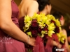 Ladies and their bouquets