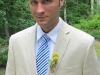 Isn\'t Matthew handsome with that Catskill natural boutonniere