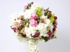 Dutch hydrangeas, peonies, love potion roses, spray roses, french, lace, roses & ranunculus