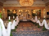 Elegant and romantic aisle to chuppah