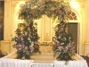 English Garden design for this chuppah