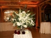 Escort card/entrance table in the foyer